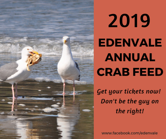 2019 EdenVale Crab Feed
