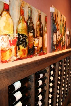 Wine Wall and Art